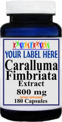 Private Label Caralluma Fimbriata Extract 800mg 180caps Private Label 12,100,500 Bottle Price