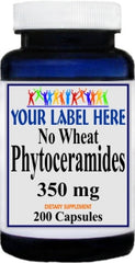 Private Label No Wheat Phytoceramides 350mg 200caps Private Label 12,100,500 Bottle Price