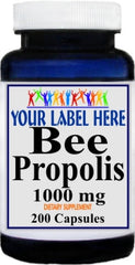 Private Label Bee Propolis 1000mg 200caps Private Label 12,100,500 Bottle Price