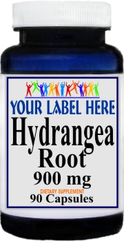 Private Label Hydrangea Root 900mg 90caps Private Label 12,100,500 Bottle Price