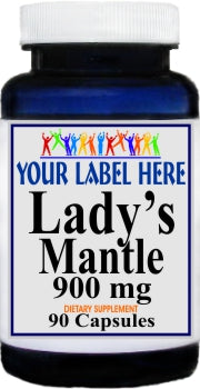 Private Label Lady's Mantle 900mg 90caps Private Label 12,100,500 Bottle Price