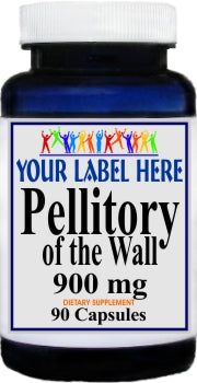 Private Label Pellitory of the Wall 900mg 90caps Private Label 12,100,500 Bottle Price