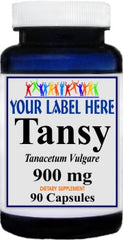 Private Label Tansy 900mg 90caps Private Label 12,100,500 Bottle Price