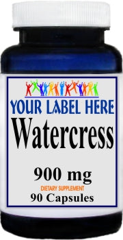 Private Label Watercress 900mg 90caps Private Label 12,100,500 Bottle Price