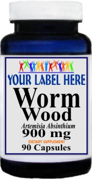 Private Label Worm Wood 900mg 90caps Private Label 12,100,500 Bottle Price