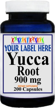 Private Label Yucca Root 900mg 200caps Private Label 12,100,500 Bottle Price