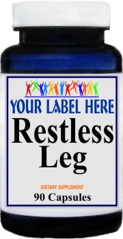 Restless Leg 90caps Private Label 25,100,500 Bottle Price