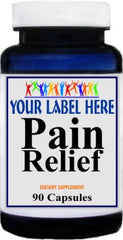 Private Label Pain Relief Advantage 90caps Private Label 25,100,500 Bottle Price
