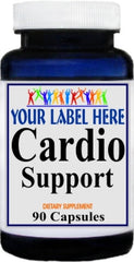 Cardio Support 90caps or 180caps Private Label 25,100,500 Bottle Price