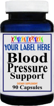 Private Label Blood Pressure Support 90caps Private Label 12,100,500 Bottle Price