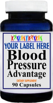 Private Label Blood Pressure Advantage 90caps Private Label 12,100,500 Bottle Price