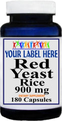 Private Label Red Yeast Rice 900mg 180caps Private Label 12,100,500 Bottle Price