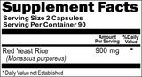 Private Label Red Yeast Rice 900mg 90caps or 180caps Private Label 12,100,500 Bottle Price