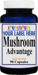 Private Label Mushroom Advantage 90caps or 180caps Private Label 12,100,500 Bottle Price