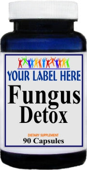 Private Label Fungus Detox 90caps Private Label 12,100,500 Bottle Price