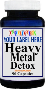 Private Label Heavy Metal Detox 90caps Private Label 12,100,500 Bottle Price