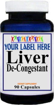 Private Label Liver De-Congest 90caps Private Label 12,100,500 Bottle Price