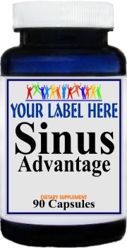 Private Label Sinus Advantage 90caps Private Label 12,100,500 Bottle Price