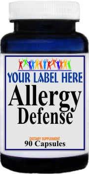 Private Label Allergy Defense 90caps Private Label 25,100,500 Bottle Price