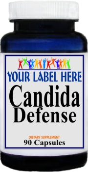 Private Label Candida Defense 90caps Private Label 25,100,500 Bottle Price