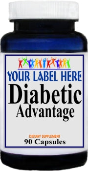 Private Label Diabetic Advantage 90caps Private Label 12,100,500 Bottle Price