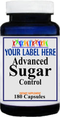 Private Label Advanced Sugar Control 180caps Private Label 12,100,500 Bottle Price