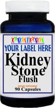 Kidney Stone Flush 90caps Private Label  25,100,500 Bottle Price