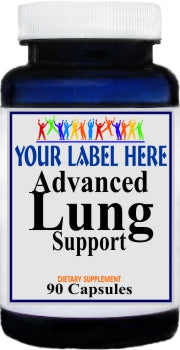 Private Label Advanced Lung Support 90caps Private Label 12,100,500 Bottle Price