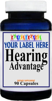 Private Label Hearing Advantage 90caps Private Label 12,100,500 Bottle Price