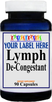 Private Label Lymph De-Congestant 90caps Private Label 12,100,500 Bottle Price