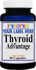 Private Label Thyroid Advantage 90caps or 180caps Private Label 12,100,500 Bottle Price