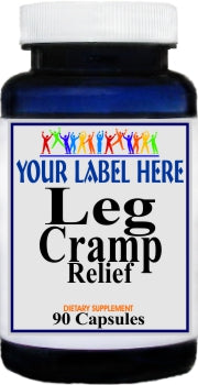 Leg Cramp Relief 90caps Private Label 25,100,500 Bottle Price