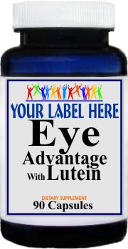 Private Label Eye Advantage with Lutein 90caps or 180caps Private Label 12,100,500 Bottle Price