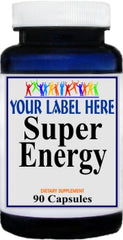 Private Label Super Energy 90caps Private Label 25,100,500 Bottle Price