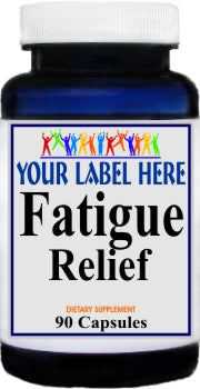 Fatigue Relief 90caps Private Label 25,100,500 Bottle Price