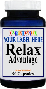 Private Label Relax Advantage 90caps Private Label 12,100,500 Bottle Price