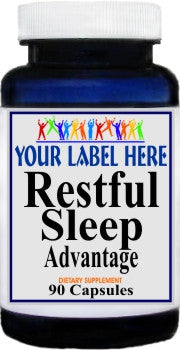 Private Label Restful Sleep 90caps Private Label 12,100,500 Bottle Price