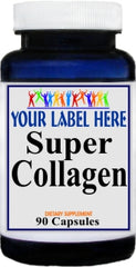 Super Collegen 90caps or 180caps Private Label 25,100,500 Bottle Price