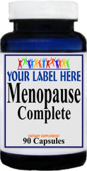 Private Label Menopause Complete 90caps Private Label 12,100,500 Bottle Price