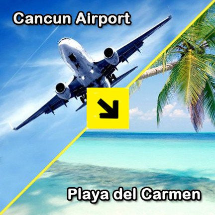 cancun airport shuttle to playa del carmen