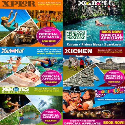 Eco Parks Riviera Maya Tickets