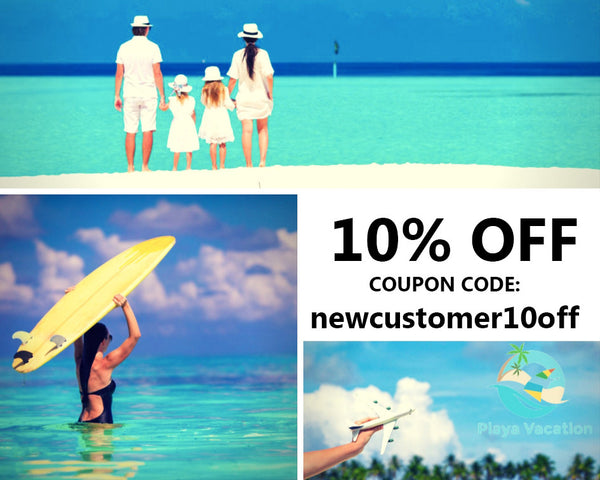 10% OFF Playa Vacation Discount Code