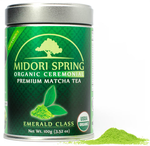 *ON BACK ORDER* Organic Ceremonial Matcha Emerald Class 100g
