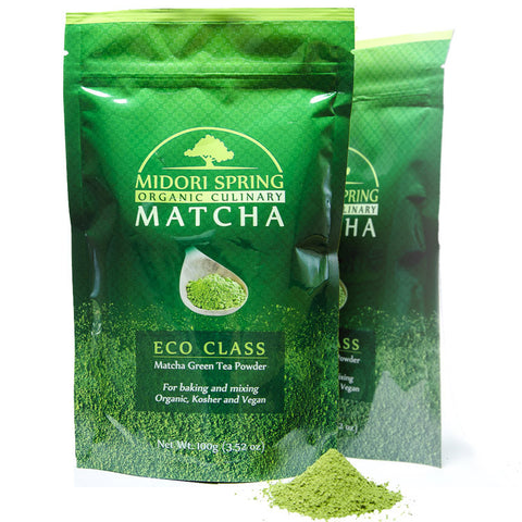 *BACK ORDER* 2 Pack - Organic Culinary Grade Matcha - ECO Class 100g