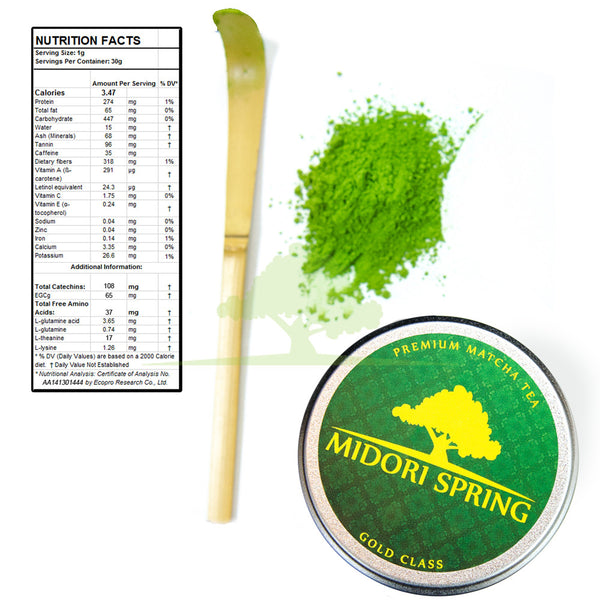 *NOW AVAILABLE* Bulk Organic Ceremonial Matcha Gold Class 1kg (2.2lbs)