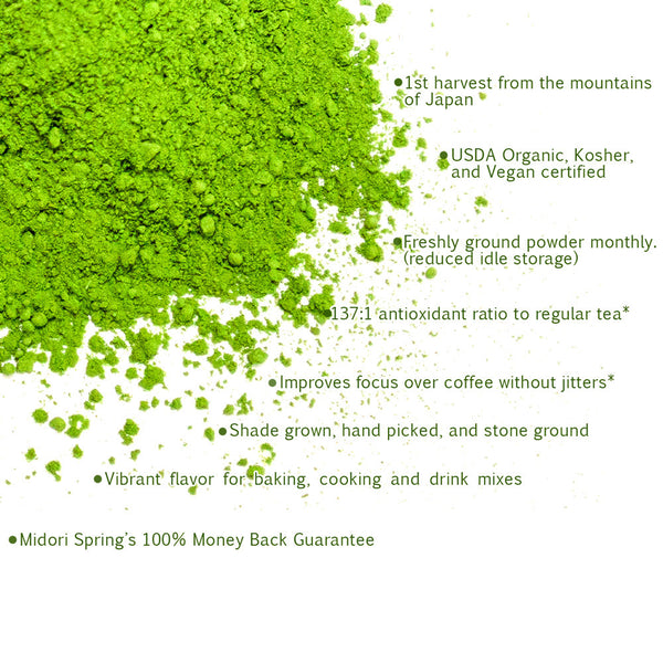 *PRE-ORDERS ONLY, LIMITED STOCK* Bulk Organic Ceremonial Matcha Gold Class 1kg (2.2lbs)
