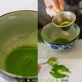 *ONLY 1 LEFT IN STOCK* Bulk Organic Ceremonial Matcha Gold Class 1kg (2.2lbs)
