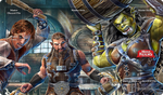 Hero Realms Playmat: Enthralled Regulars