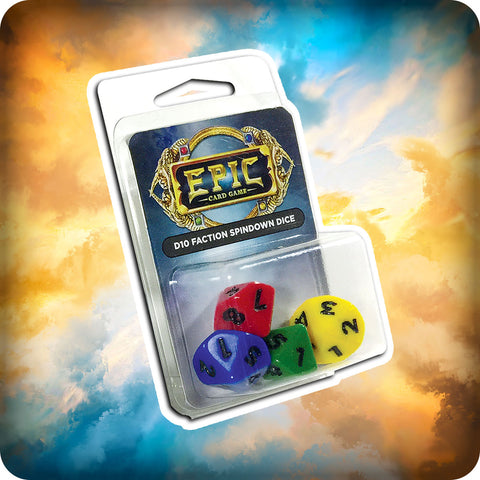 Epic Card Game Dice