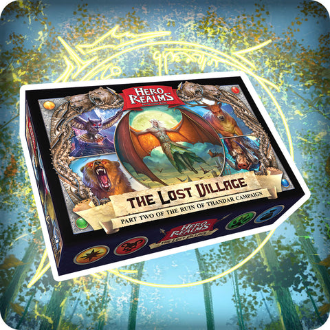 Hero Realms The Lost Village Campaign Deck